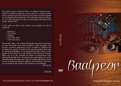 Baalpeor DVD Cover