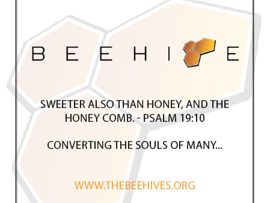 Beehive Honey Label