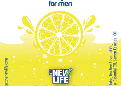 New Life Deodorant Sticker