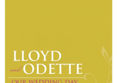 Odette's Wedding Program 1
