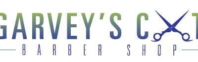 Garvey's Barber Shop Logo (color)