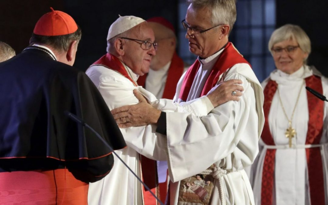 Pope on Reformation: Forgive 'errors' of past, forge unity